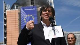 España deja vacantes escaños de 3 eurodiputados catalanes electos