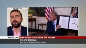 Medina: Lobby sionista de EEUU influye en su política contra Irán