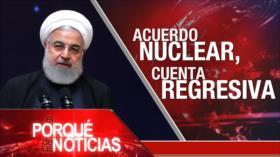 El Porqué de las Noticias: Irán y uranio enriquecido. Guerra en Yemen. Elecciones en Guatemala