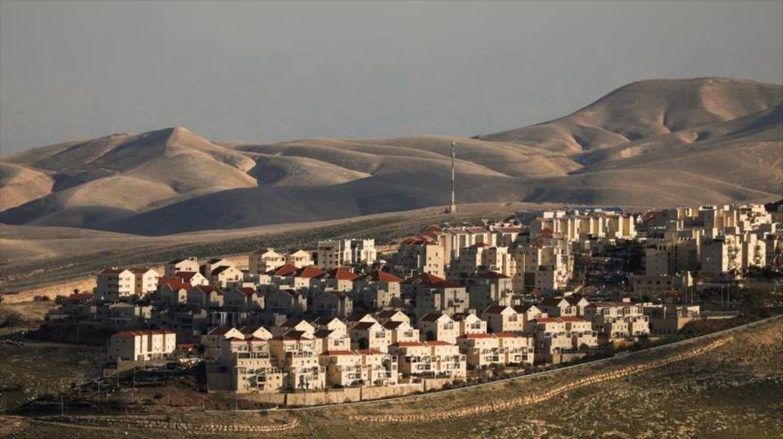 Una vista general del asentamiento ilegal israelí Maale Adumim, en la ocupada Cisjordania, 15 de febrero de 2017. (Fuente: Reuters)