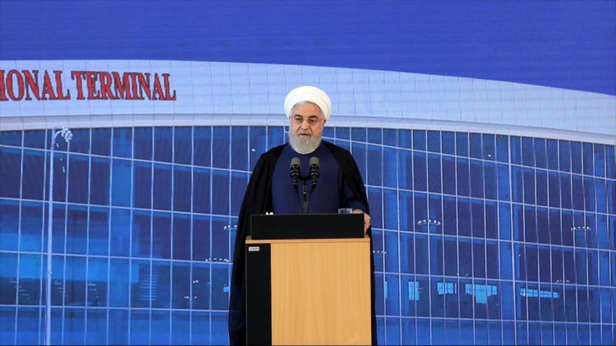"""Rohani asegura que Irán """"no entrará en guerra"""" con ningún país"""
