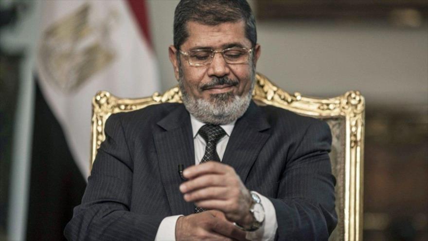 El expresidente egipcio Muhamad Mursi.