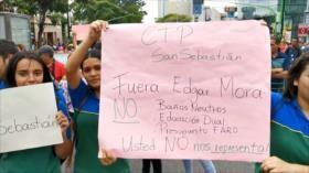 Costarricenses piden la dimisión del ministro de Educación
