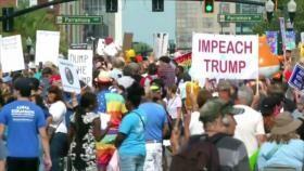 CSNU sobre Idlib. Lazos EEUU-China. Protesta contra Trump