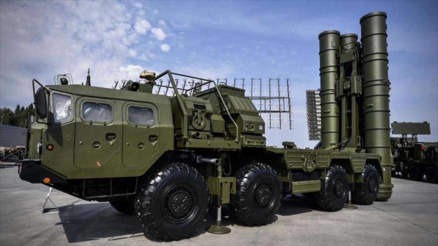 El avanzado sistema de defensa aéreo ruso S-400.