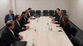 Irán y Venezuela llaman al mundo a apoyar al Gobierno de Maduro