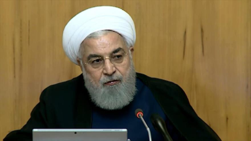 Rohani califica de crímenes contra humanidad sanciones contra Irán   HISPANTV