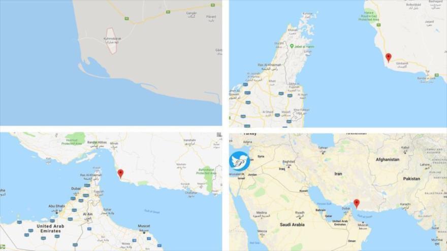 Mapa indica la zona donde Irán derribó un dron espía de EEUU | HISPANTV