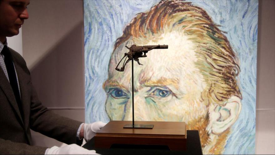 Compran pistola con la que se suicidó Van Gogh por 162 500 euros