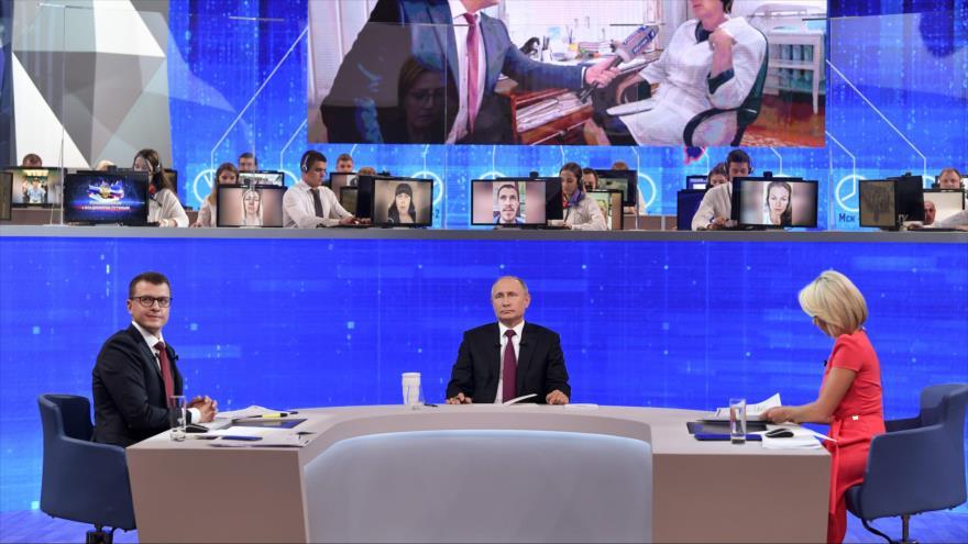 Putin alerta de 'un desastre' si EEUU recurre a fuerza contra Irán | HISPANTV