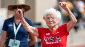 La edad no importa: anciana de 103 años rompe récord en atletismo