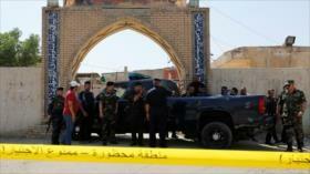 Atentado terrorista deja 10 muertos y 30 heridos en Bagdad