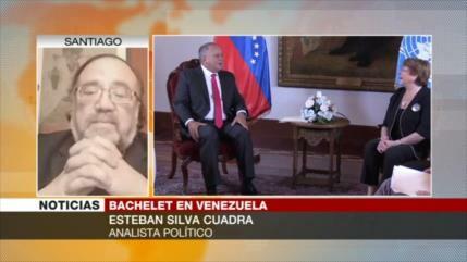 Silva: Bachelet reconoce en Venezuela institucionalidad del Estado