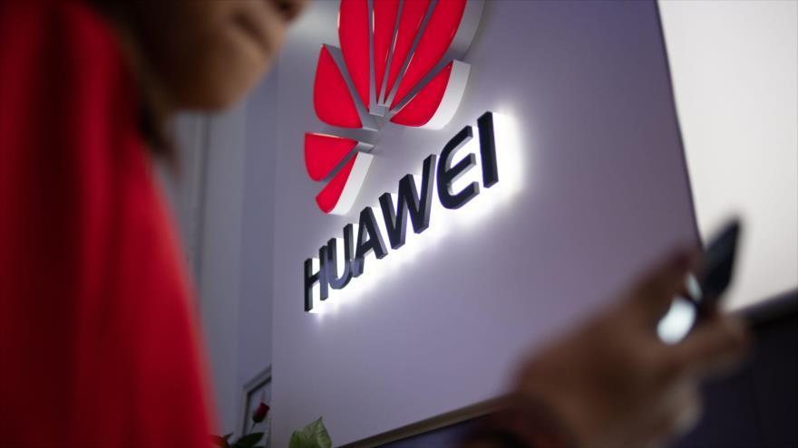 Un logotipo de la empresa china de telecomunicaciones Huawei en una tienda en Pekín (la capital), 27 de mayo de 2019. (Foto: AFP)
