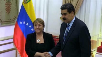 Michelle Bachelet llama al diálogo en Venezuela