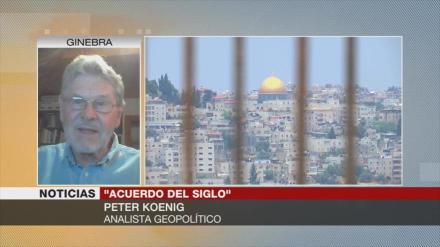 """Koening: Si acepta """"acuerdo del siglo', Palestina mataría su causa"""