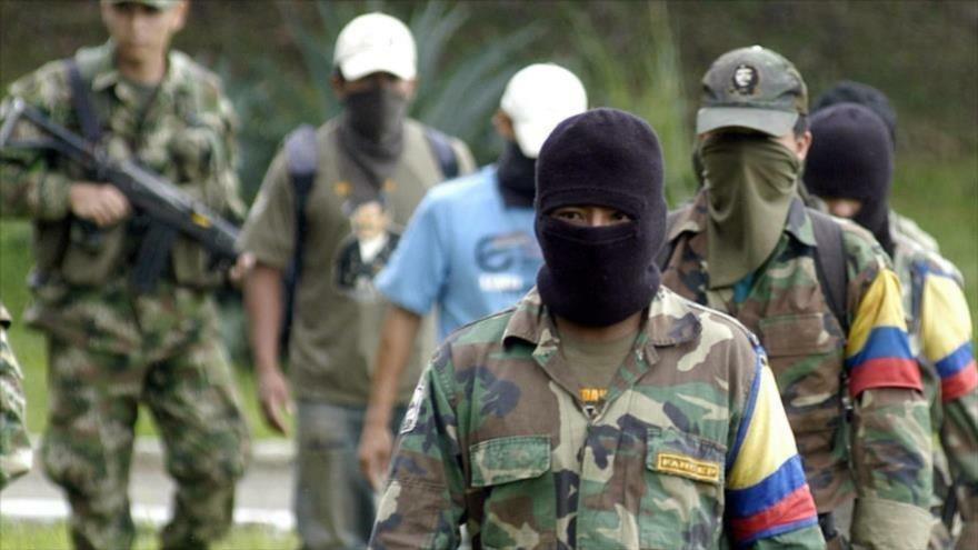 Miembros disidentes de la exguerrilla Fuerzas Armadas Revolucionarias de Colombia (FARC).