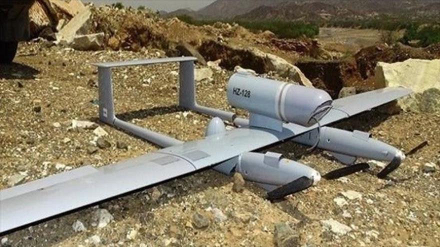 Un dron espía saudí derribado por las fuerzas yemeníes.