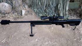Entra en servicio el primer rifle de francotirador hecho en Siria