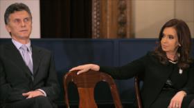 Alianza de Cristina Fernández vencería en primera vuelta a Macri
