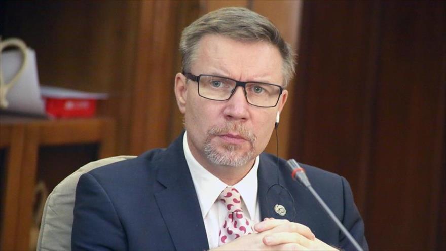 El representante del Fondo de Naciones Unidas para la Infancia en Irán, Will Parks.