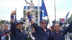 Educadores marchan contra ley antihuelgas en Costa Rica