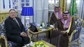 Acuerdo del siglo. Sanciones de EEUU. Lazos Washington-Riad