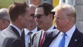 Hunt asegura que Londres puede unirse a EEUU en una guerra con Irán