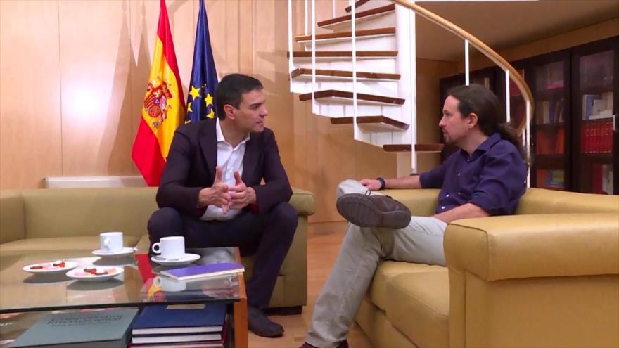 """Podemos espera """"movimientos"""" socialistas para formar gobierno"""