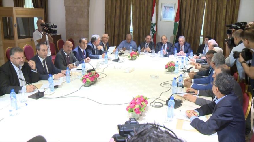 """Gobierno libanés repudia el llamado """"acuerdo de siglo"""""""