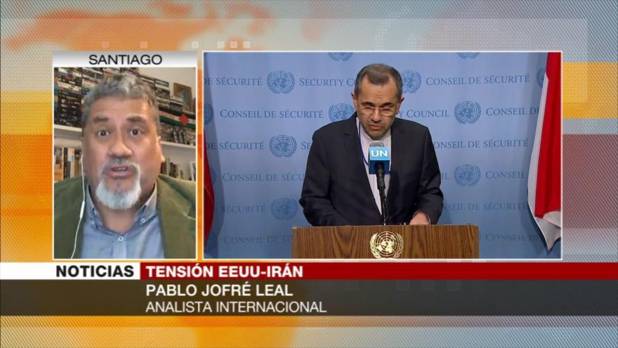 Jofré Leal: EEUU viola derecho internacional al sancionar a Irán