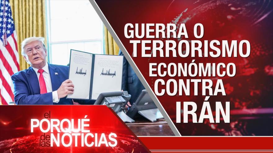 El Porqué de las Noticias: EEUU busca guerra. Acuerdo del Siglo. Venezuela y Colombia