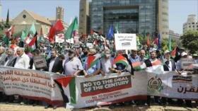Vídeo: Libaneses protestan contra foro estadounidense de Baréin