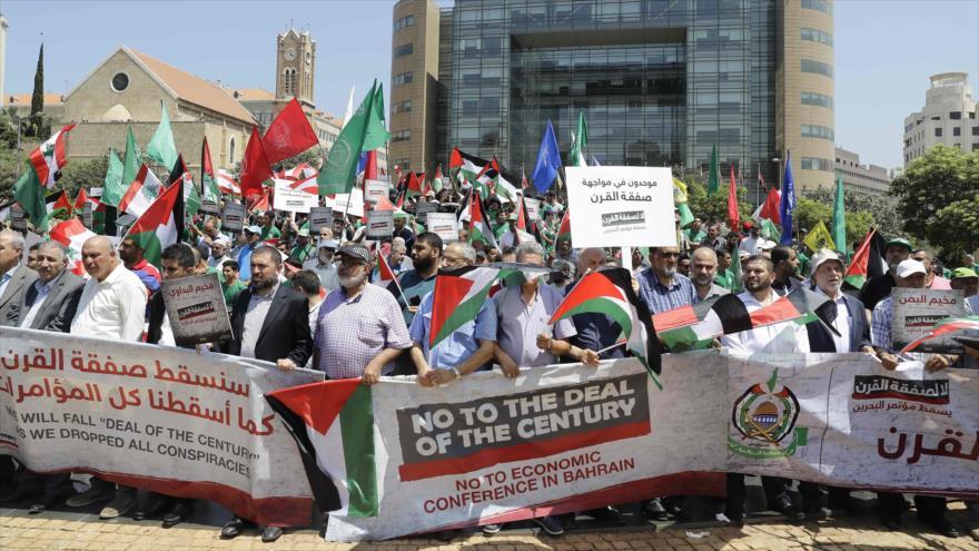 Vídeo: Libaneses protestan contra foro estadounidense de Baréin | HISPANTV