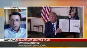 Martínez: EEUU aplica la estrategia del caos y de la mentira