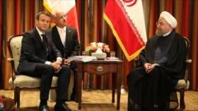Rohani: Irán reaccionará con contundencia a las violaciones de EEUU