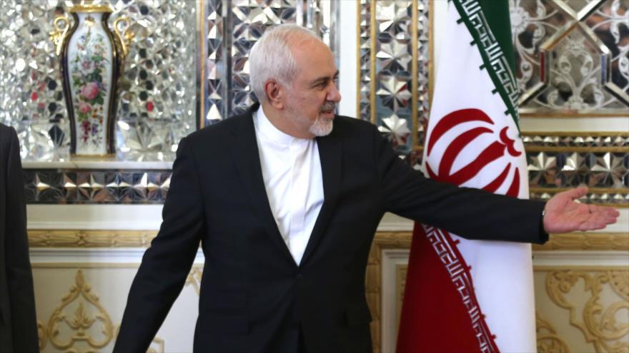El canciller de Irán, Mohamad Yavad Zarif, en un acto celebrado en Teherán, 10 de junio de 2019. (Foto: AFP)