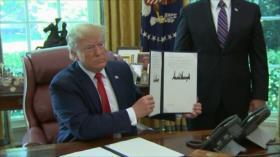 Crecen tensiones entre Irán y EEUU tras sanciones al Líder persa