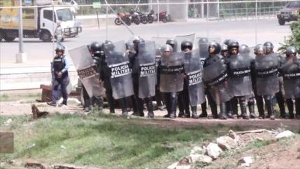 Militares reprimen violentamente manifestaciones en Honduras