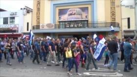 Educadores repudian la ley antihuelgas en Costa Rica