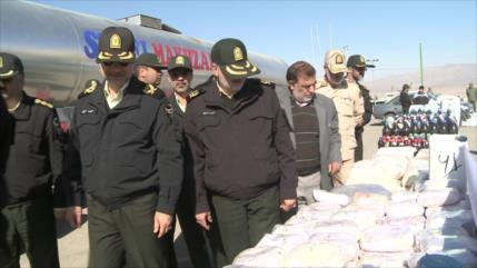 Irán: Embargos de EEUU dificultan lucha antidrogas internacional
