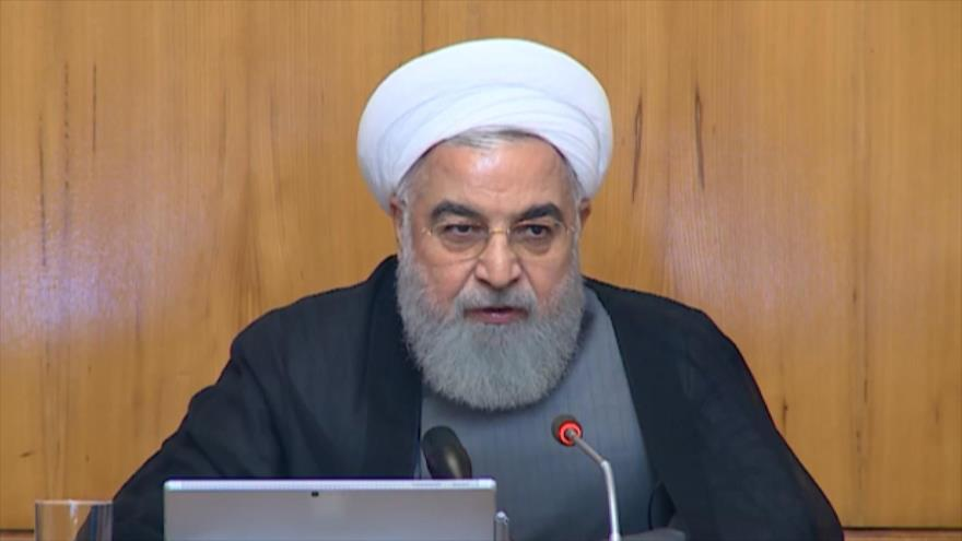 Rohani: Trump miente sobre diálogo con Irán