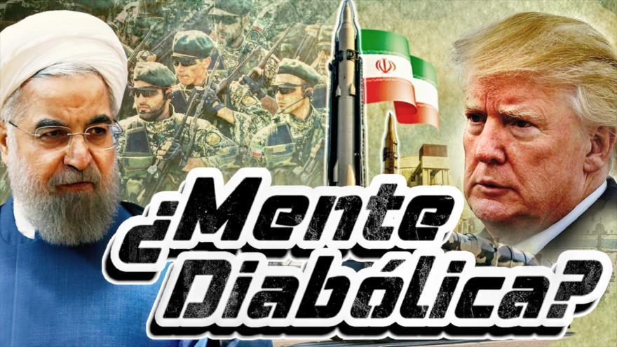Detrás de la Razón; Trump tiene una enfermedad mental y enfrentará la destrucción de EEUU: Irán