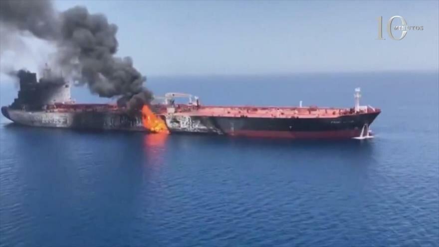 10 Minutos: Conspiración de guerra de petroleros de EEUU