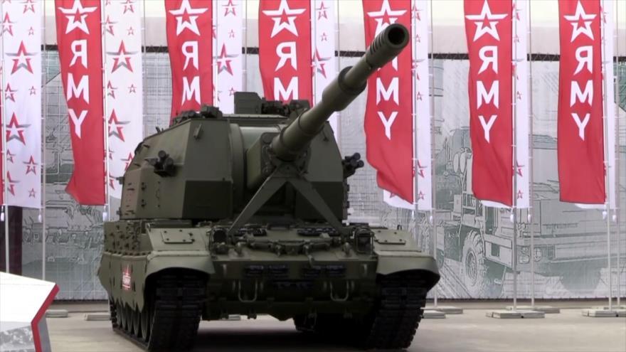 """Rusia celebra evento técnico-militar """"Army 2019"""""""
