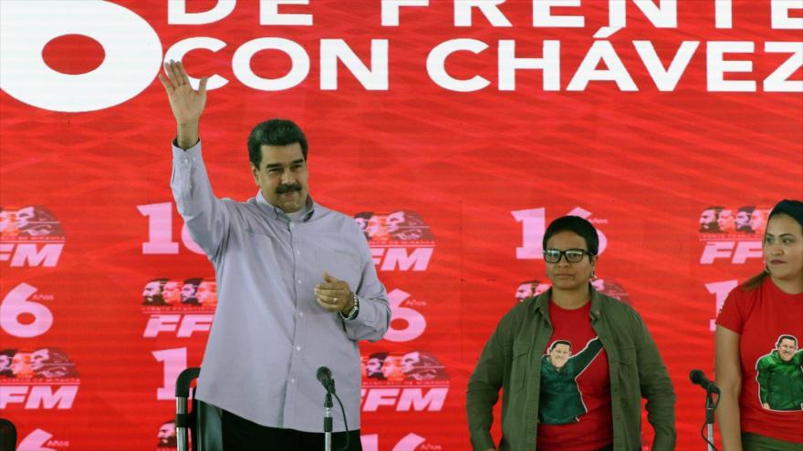 Maduro ensalza unidad de FANB, que fracasó plan terrorista de golpistas