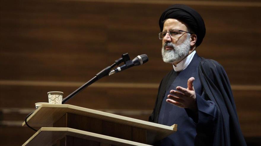 El presidente del Poder Judicial de Irán , Seyed Ebrahim Raisi.