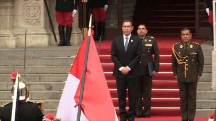 Perú: Aprobación de Martín Vizcarra llega a casi el 50 %