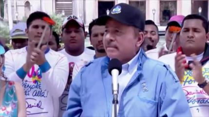 Daniel Ortega rechaza sanciones estadounidenses