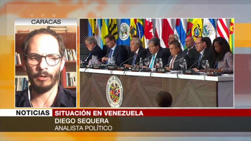 Sequera: Legitimidad de Guiadó se concibe como algo insostenible | HISPANTV